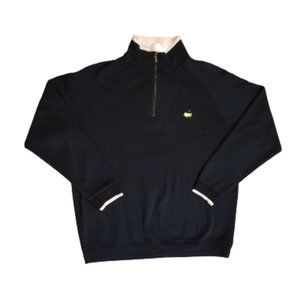 Masters Collection Quarter Zip Golf Polo | Navy
